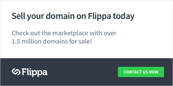 Flippa: Buy and sell domains and websites.